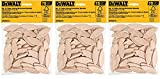 DEWALT DW6810 No. 10 Size Joining Biscuits. Sold as 3 Pack, 225 Pieces Total
