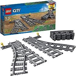 LEGO City Switch Tracks 60238 Building Kit (6 Pieces)