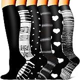 Copper Compression Socks - Compression Socks Women and Men - Best for Circulation, Medical, Running, Athletic, Nurse, Travel