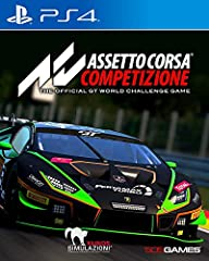 Assetto Corsa Competizione allows you to feel the real atmosphere of the GT3 championship Compete against official drivers,teams, cars circuits reproduced in game with the highest level of accuracy ever achieved on console Sprint, Endurance, and Spa ...