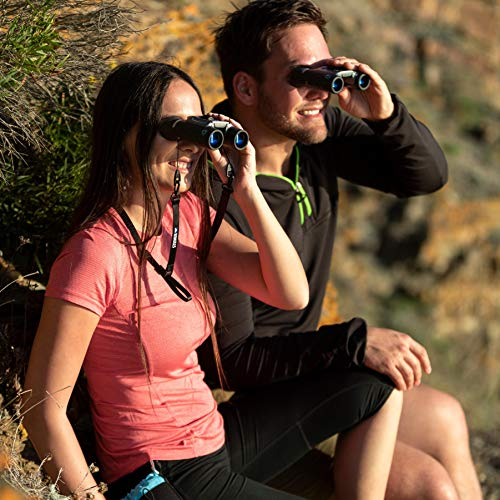 Steiner BluHorizons 10x26 binoculars - sun protection for the eyes, compact, lightweight design - Perfect for the beach, at sea and for outdoor activities