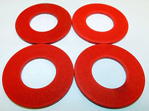 FOUR PACK Size #32 fiber meat grinder thrust washer fits Hobart auger worm gear and others. Please compare measurements to your needs.
