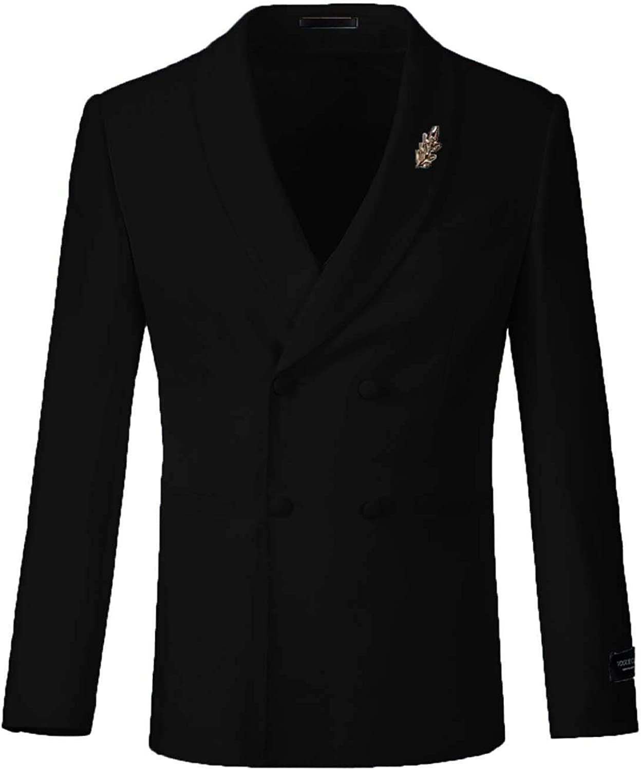 Max 85% OFF FAIOKAVER Men's Suits Double Breasted Tuxedo Formal Fit Regular Inexpensive