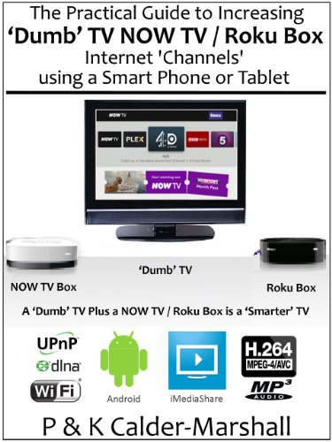 The Practical Guide to Increasing 'Dumb' TV NOW TV / Roku Box Internet 'Channels' using a Smart Phone or Tablet (English Edition)