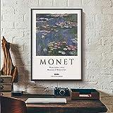 N/A Wandbilder Dekoration Claude Monet Poster, Monet