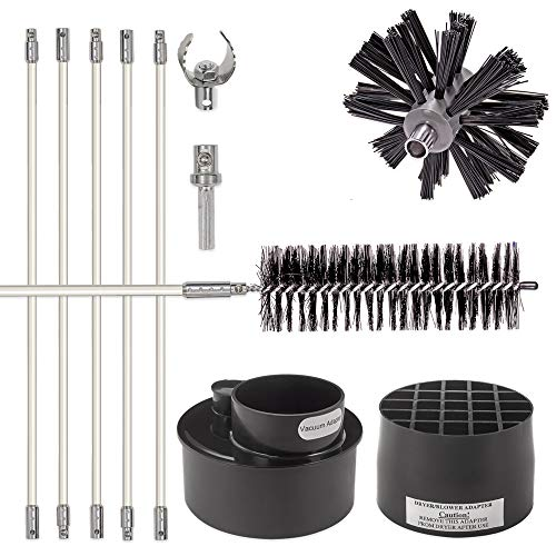 Eastman 60768 Lint Wizard Large Duct Dryer Vent Cleaning Kit