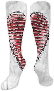 Pattern Socks,Socks Women,Women Casual,Socks Barbed Wire Grey Star Shaped Motif