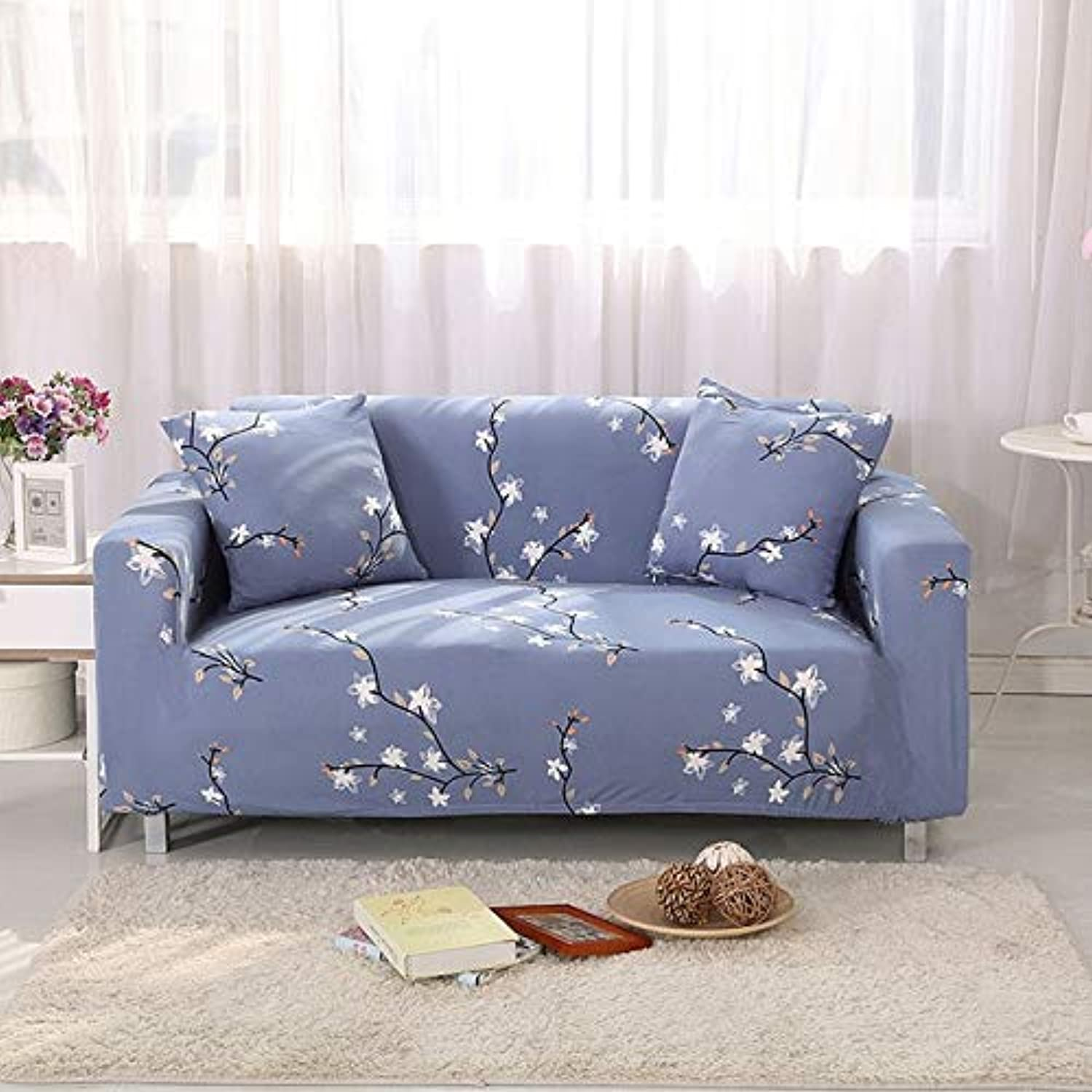 Europ Style Sofa Cover Sofa-Slip Tight Elastic Sofa Towel Wrap All-Inclusive Slip-Resistant Couch Cover 1 2 3 4-seater   21, Two-seat