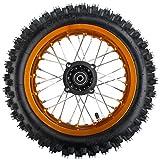 X-PRO 12' Rear Wheel Rim Tire Assembly for 110cc 125cc 140cc 150cc 160cc Dirt Bikes