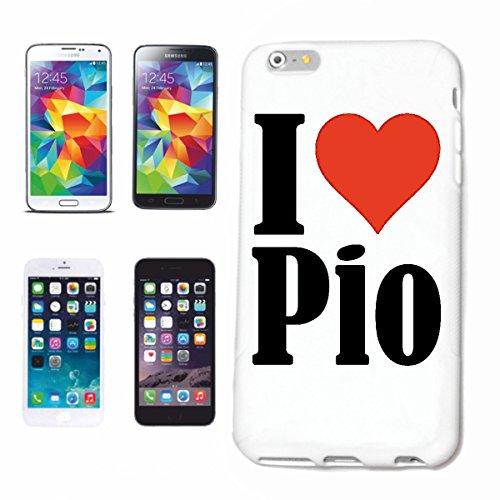 Reifen-Markt Handyhülle kompatibel für iPhone 7 I Love Pio Hardcase Schutzhülle Handy Cover Smart Cover
