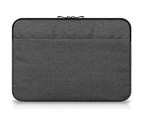 11.6 Zoll Hülle Sleeve Tasche für Tablet mit Tastatur für z.B. Lenovo Miix 510 Ideapad Yoga 300 Grau Schwarz