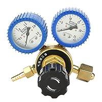 25Mpa Argon Regulator Oxygen Flow Meter Shock-proof Gas Pressure Reducer