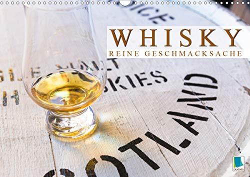 Whisky: Reine Geschmacksache (Wandkalender 2021 DIN A3 quer)