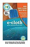E-Cloth Mini Deep Clean 5 in. W x 10.5 in. L Polyester Blend Mop Head 1 pk -...