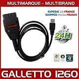 Mister diagnostic® interface Galletto 1260Chip Tuning programmation ECU Flash + Pack logiciel