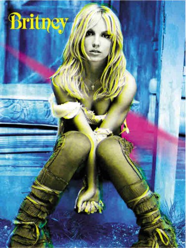 Britney Spears -- Britney: Piano/Vocal/Chords (Includes Souvenir Poster), Book & Poster