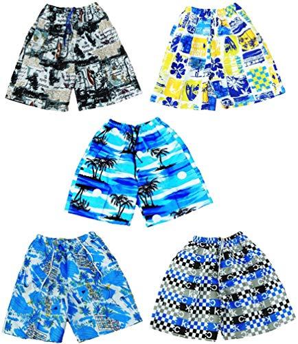 VanessasShop 5-pack jongens zwembroek/zwemshorts in de maten 164 170 176 182 188