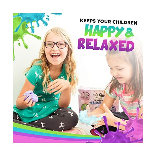 Alpine Summit Unicorn Slime Kit Supplies Stuff for Girls Making Slime [Everything in One Box] Includes Unicorn Backpack… 4