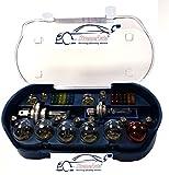 XtremeAuto - Kit d'ampoule de rechange - Universel - 30 pièces - Dont ampoules et fusibles H1H4H7380382581- Autocollant XtremeAuto inclus