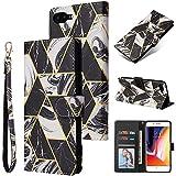 Couverture de boîtier de téléphone Boîtier de portefeuille pour iPhone 7P / 8P, conception de la...