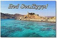 大人のためのエジプト紅海ジグソーパズル子供子供1000ピースギフトのための木製パズルゲーム家の装飾特別な旅行のお土産