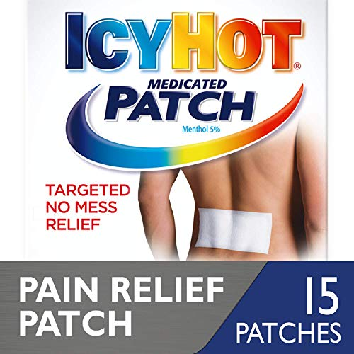 IcyHot Medicated Patch Back - 5ct