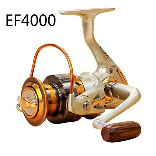 GMM Spinnrolle Spinnig Angelrolle mit Frontbremse (EF4000)