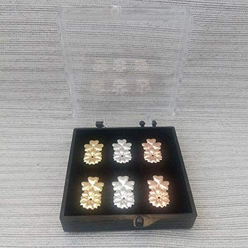 XINTIAN 925 sterling silver 3 pairs Bear earring Backs Heart Lifters firmly supports hypoallergenic butterfly lifts owl crown (Color : 2, Size : 14mm)
