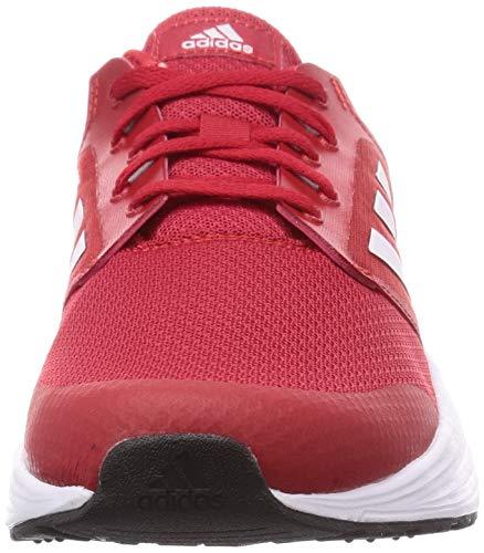 adidas Galaxy 5, Zapatillas Hombre, Escarl/FTWBLA/NEGBÁS, 42 2/3 EU