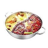 OllaCaliente Separada En Forma De28Cms, Ollas De Cocina De Acero Inoxidable, Cocinas, Ollas Calientes Y Cocinas De Inducción De Gas