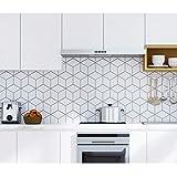 Carrelage Adhesif Mural 60X300Cm Stickers Huile De Cuisine Autocollants Faux Carreaux Mur Mosaïque Stickers Muraux Carrelage Autocollants Papier Peint Papier Peint Auto-Adhésif Imperméable