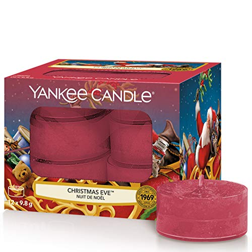 Yankee Candle Yankee candle duft-teelichter | christmas eve | 12 stück