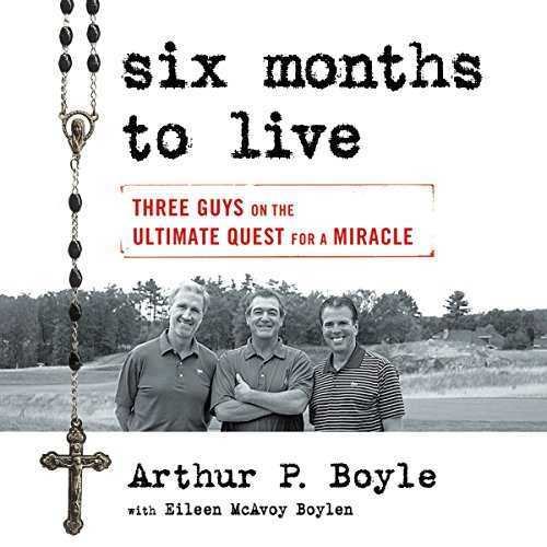 Six Months to Live... audiobook cover art
