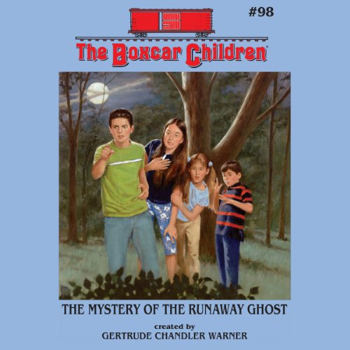 The Mystery of the Runaway Ghost audiobook cover art