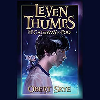 Leven Thumps and the Gateway to Foo audiobook cover art
