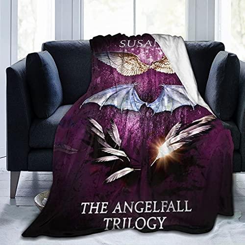 Penryn Young Raffe popular tapa dura Tage der Dunkelheit: Roman Angel-fall Susan Ee mantas ligeras, ultra suaves y esponjosas para todas las estaciones, sofá cama de 127 x 101 cm