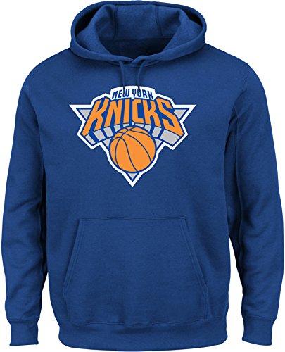 VF LSG NBA New York Knicks Herren Tek Patch Langarm Fleece Pullover Hoodie Large Deep Royal