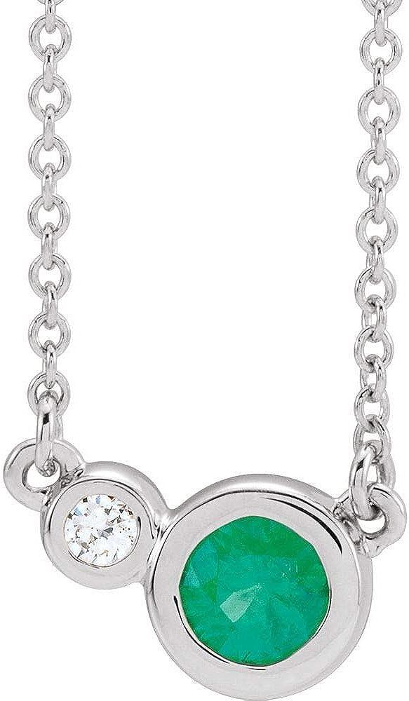 Two Stone Bezel Set Gemstone and Charm Sacramento Mall Diamond Pendant store