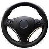 ZHHRHC Cubierta del Volante del Coche, Apta para BMW M Sport 1 Series E87 E81 E82 E88 120i 130i 120d X1 E84