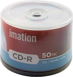 Imation 73000019239 52X 50PK Spindle 700 MB 15-Lang CD-R