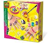 SES- Pulseras y Anillos Creative, Multicolor (01007)