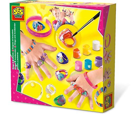 SES Creative 01007 Ringen und Armbänder 01007-Ringe, Mehrfarbig
