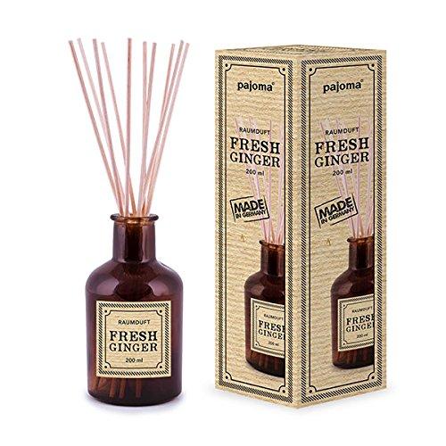 pajoma Raumduft ''Fresh Ginger'' aus der Apothecary Edition, 200 ml inkl. Rattanstäbchen