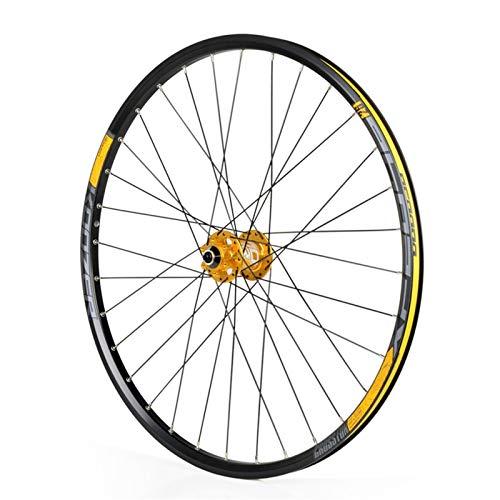 Accesorio de bicicleta de ejes de liberación rápid 26 / 27.5 pulgadas Bicicleta Rueda de Fron, Bicicleta de montaña Pasta de ruedas Doble Wall Aleación RIM QR Disc Freno 32h Bicicleta de carretera Cic