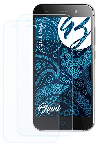 Bruni Schutzfolie kompatibel mit ZTE Blade L6 Folie, glasklare Bildschirmschutzfolie (2X)