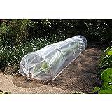 LONGMHKO Set túnel de plástico para Cultivos con lámina 6030204 Medidas lámina: 2 x 4 mm