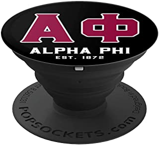 Alpha Phi Sorority Fraternity PopSockets Grip and Stand for Phones and Tablets