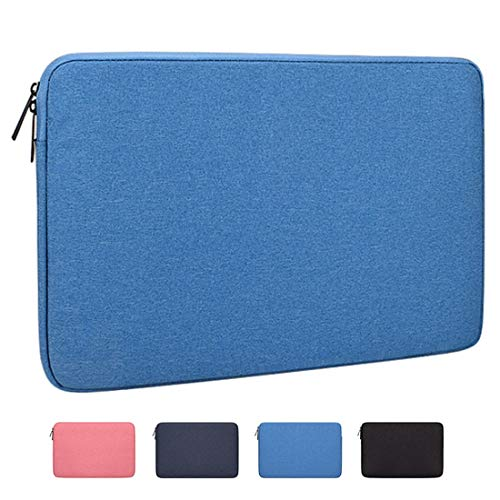Laptop Sleeve Bag with 12-15 Inch Macbook Pro, Macbook Air Laptop Briefcase Waterproof Oxford Cloth Laptop Case Compatible for ACER ASUS DELL HP SONY SAMSUNG Notebook Computer,Lightblue,15.6inch