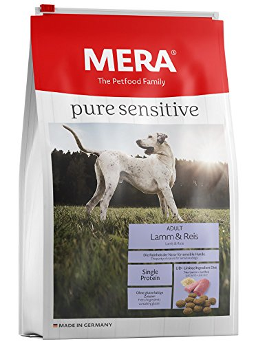 Mera Dog Hundefutter Pure Sensitive Lamm und Reis, 12.5 kg