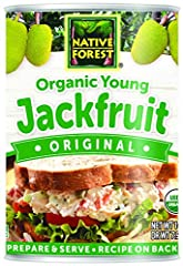 MEATLESS ALTERNATIVE: Our Organic Young Jackfruit is an excellent vegan, soy & gluten free meatless alternative to use in numerous recipes. A mild flavor makes it a great base for sauces & seasonings! GREAT ALTERNATIVE TO CHICKEN & PORK: Young jackfr...